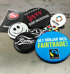 Specielle badges