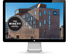 The Winery hotel navneskilte