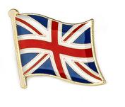 emalje pin flag fra hele verden
