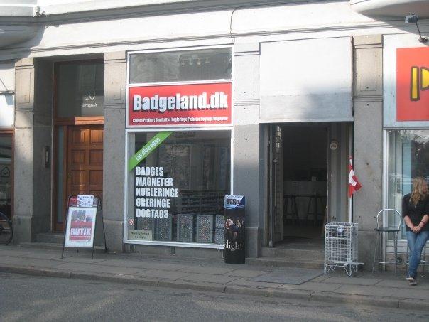 Butikken i Nørregade lige efter overtagelsen i 2008