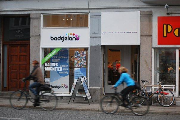 Badgeland lige før fraflytningen i 2011 nu lavet helt om til kontor.