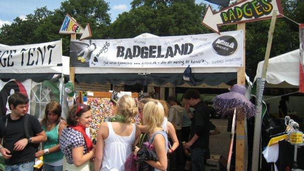 Badgeland på Roskilde festival 2008