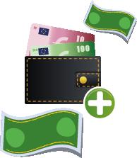Forskellige betalingsmuligheder