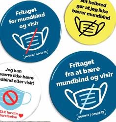 FRITAGET badges