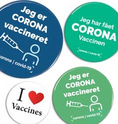 Vaccine badges